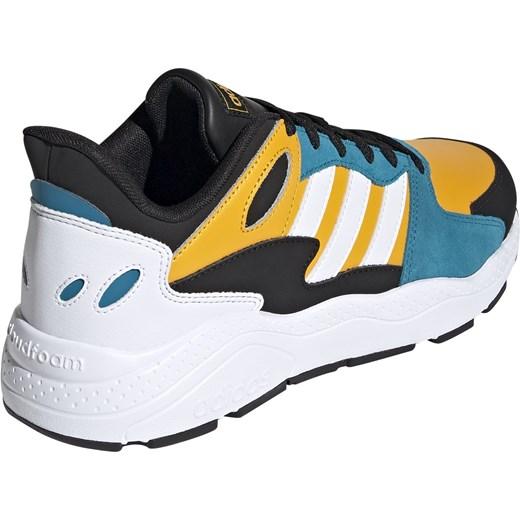 Buty sportowe męskie Adidas crazy wielokolorowe skórzane na wiosnę wiązane