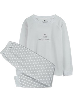 piżama komplet <br> szary jasny, NLP-457 - Atlantic   okazja Atlantic  - kod rabatowy