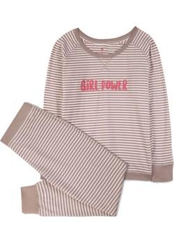 piżama komplet <br> ecru, NLP-453 - Atlantic   Atlantic okazja  - kod rabatowy