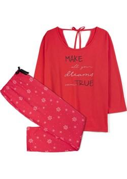 piżama komplet <br> czerwony, NLP-456 - Atlantic   okazja Atlantic  - kod rabatowy