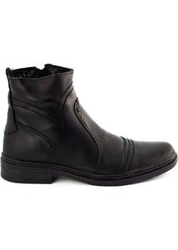 Ocieplane buty 252 czarne   butyolivier - kod rabatowy