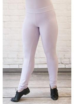 Legginsy damskie długie liliowy Rennwear  promocja rennwear.com  - kod rabatowy