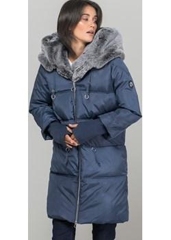 Płaszcz z futerkiem i z rękawem 3/4  Monnari promocja E-Monnari  - kod rabatowy