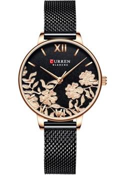 Damski zegarek CURREN na bransolecie w kolorze czarnym Curren  okazja niwatch.pl  - kod rabatowy