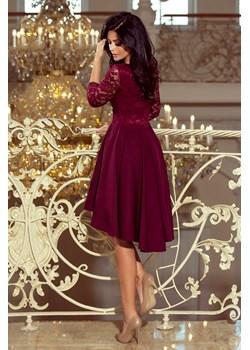 Sukienka z dłuższym tyłem rozm XL   wyprzedaż 4myself.pl  - kod rabatowy