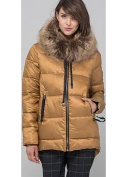 Zimowa kurtka z miękkim eko futerkiem  Monnari promocja E-Monnari  - kod rabatowy