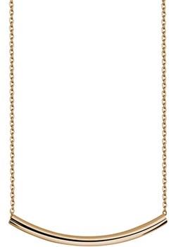 Srebrny elegancki naszyjnik pozłacany   Dauer - kod rabatowy