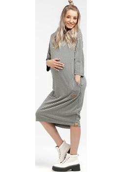 Sukienka ciążowa dresowa prosta 5918/5949  Que  - kod rabatowy