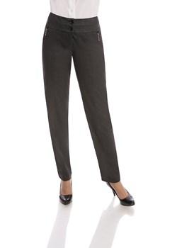 Spodnie FSD309 GRAFITOWY fokus-fashion czarny Spodnie - kod rabatowy