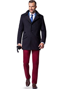 Płaszcz Czarny Alessandro  Lancerto wyprzedaż   - kod rabatowy