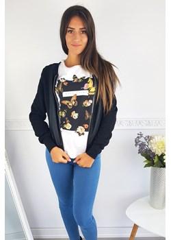 Kurtka Alisia- black niebieski Made2wear  - kod rabatowy