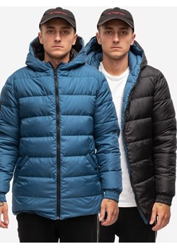 Doublesided Down Jacket Black Dark Blue Phenotype  UrbanCity.pl - kod rabatowy