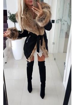 HIT! Płaszcz Zamszowy Paris Iwette Fashion   - kod rabatowy