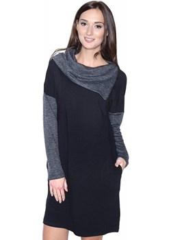 """Piękna sukienka ciążowa """"Jana"""" 9021 czarny MijaCulture - kod rabatowy"""