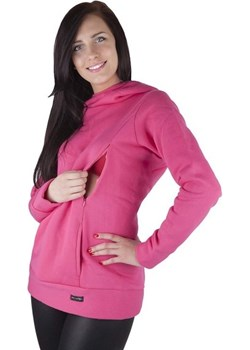 MijaCulture – 3 w 1 ciepła bluza ciążowa i do karmienia 1101 różowy okazja MijaCulture - kod rabatowy