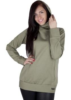 MijaCulture – 3 w 1 ciepła bluza ciążowa i do karmienia 1101 oliwka promocja MijaCulture - kod rabatowy