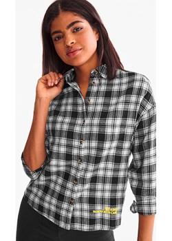 C&A Flanelowa bluzka-w kratę, Czarny, Rozmiar: 34  Clockhouse C&A - kod rabatowy