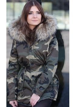 Parka Fashion - moro  Made2wear  - kod rabatowy