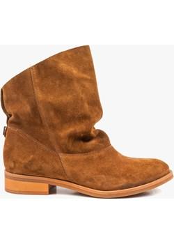 Rude botki damskie skórzane 2700/E25 Oleksy - producent obuwia okazja - kod rabatowy