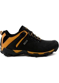 Czarne obuwie trekkingowe MXC-6645  Butymodne okazja ButyModne.pl  - kod rabatowy