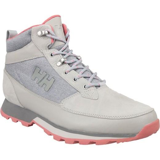 Buty trekkingowe damskie Helly Hansen sznurowane płaskie bez wzorów1 skórzane
