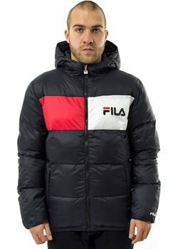 Kurtka zimowa męska Fila Floyd Puff Hood Jacket black  Fila matshop.pl - kod rabatowy