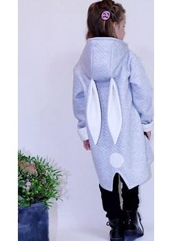 Szara Bluza z kaputrem - Królik Lovik Style For Kids  Lovik Style - kod rabatowy