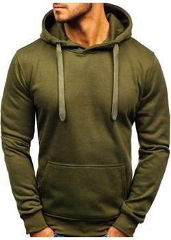 Bluza męska z kapturem oliwkowa Denley 2009 Denley   okazja  - kod rabatowy