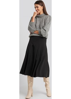 NA-KD Classic Tailored Pleated Midi Skirt - Black NA-KD Classic  NA-KD - kod rabatowy