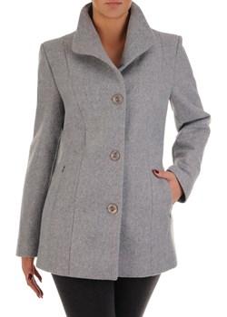 Wełniany płaszcz z modnym kołnierzem Mirabella II.   Modbis - kod rabatowy
