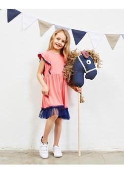 Sukienka Alice in Wonderland Coral Dress  Banana Kids wyprzedaż   - kod rabatowy