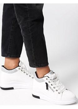 Białe Sneakersy Solidago  Born2be born2be.pl - kod rabatowy