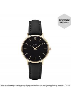 Zegarek Cluse Minuit Gold Black/Black CL30004 Cluse czarny SMA Cluse - kod rabatowy