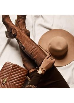 kozaki za kolano - skóra naturalna - model 128 - kolor brązowy przecierka  Zapato zapato.com.pl - kod rabatowy