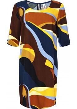 Sukienka z podpinanym rękawem   elite - kod rabatowy
