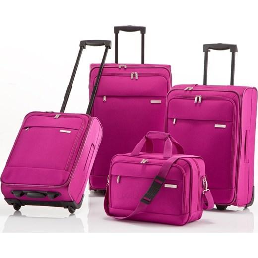 4c4e5e606b3d3 Komplet walizek + torba podróżna Travelite Portofino III - Komplet walizek  + torba podróżna Travelite Portofino