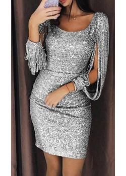 Sukienka ISKRA SILVER  IVET wyprzedaż IVET.PL  - kod rabatowy