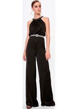 Trendyol Black Back Decolletage Jumpsuit  Trendyol FACTCOOL  - kod rabatowy