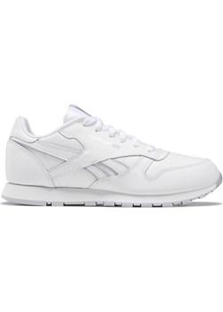 Reebok Classic Leather White Cold Grey-3.5 Reebok  Shooos.pl okazja  - kod rabatowy