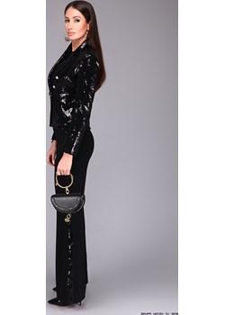 komplet damski calore ** ekskluzywny garnitur cekinowy żakiet+ spodnie Calore  LUXURYONLINE - kod rabatowy