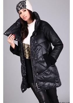 kurtka damska snow&passion ** ocieplana dłuższa kurtka pikówka/ kożuszek Snow&passion  LUXURYONLINE - kod rabatowy