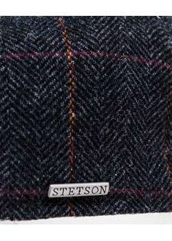 wełniany kaszkiet z motywem jodełki stetson  Stetson Allora - kod rabatowy