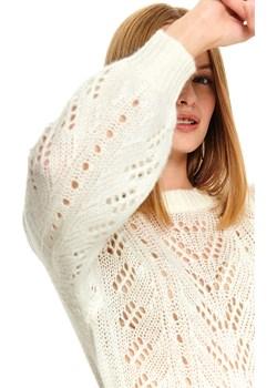 Ażurowy sweter damski  Top Secret okazja   - kod rabatowy