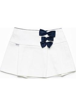 Spódniczka dla dziewczynki White Bows Skirt Banana Kids  okazja   - kod rabatowy
