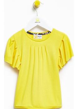 Bluzka dziecięca dla dziewczynki Yellow Peony Blouse  Banana Kids okazja   - kod rabatowy