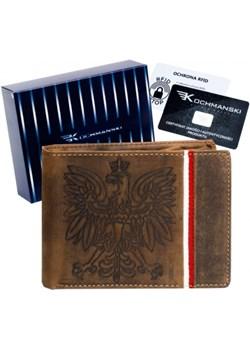 Skórzany portfel Kochmanski 1354  Kochmanski Studio Kreacji® Skorzany - kod rabatowy