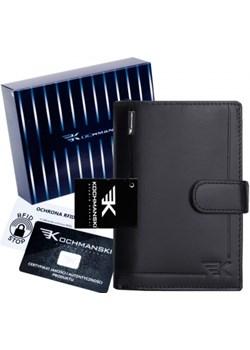 Kochmanski skórzany portfel męski HQ 1048 Kochmanski Studio Kreacji®  Skorzany - kod rabatowy