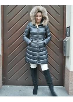 Kurtka płaszcz puchowy futerko Italy.   wyprzedaż yourboutique  - kod rabatowy