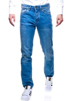 Spodnie jeansowe męskie regular Recea  Recea okazyjna cena Recea.pl  - kod rabatowy