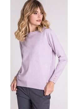Basicowy sweter z guziczkami przy rękawach Monnari  okazja E-Monnari  - kod rabatowy